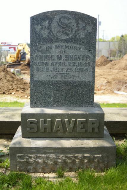 Plot #001 - Annie M. Shaver