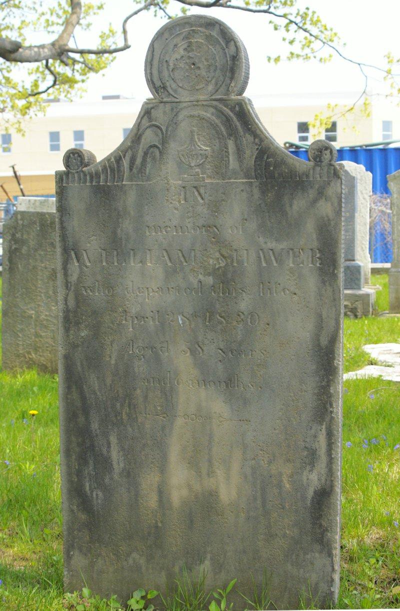 William E. Shaver - head stone