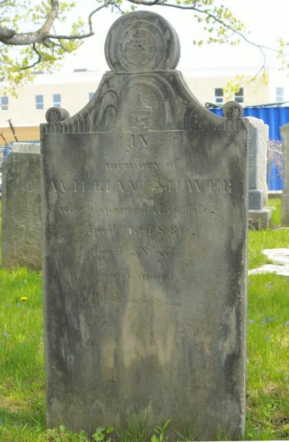 William E. Shaver - headstone