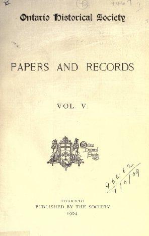 Ontario History - Volume 5