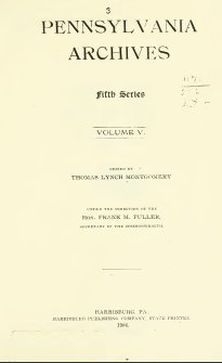 Pennsylvania Archives - Volume 5