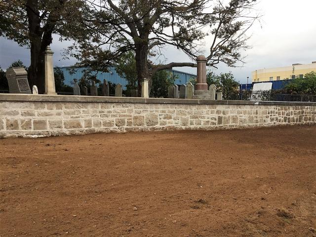 Cemetery South Wall October 13 2017